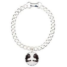 french bulldog flip flop Charm Bracelet, One Charm