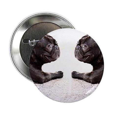 "french bulldog flip flops 2.25"" Button"