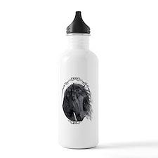 black_horse_hell_freig Water Bottle