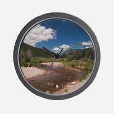 rocky mountians8 Wall Clock