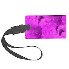 Apatite-pink-laptop-skin Luggage Tag