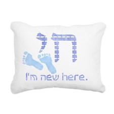 new_here_chai Rectangular Canvas Pillow