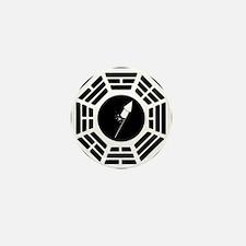 Dharma-logo-Silvester Mini Button