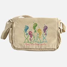 Dancing Seahorses Design Messenger Bag