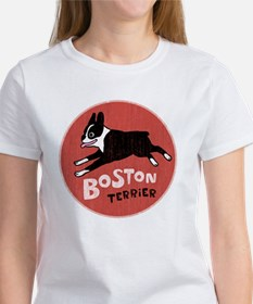 bostonredcirclehigher Women's T-Shirt