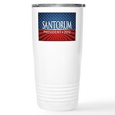 5x3_rick_santorum_04 Travel Mug