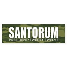 10x3_bumper_santorum_02 Bumper Sticker