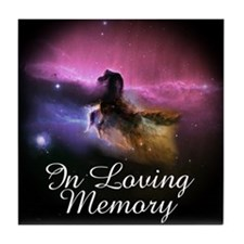In Loving Memory Tile Coaster