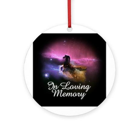 In Loving Memory Ornament (Round)