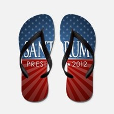button_santorum_04 Flip Flops