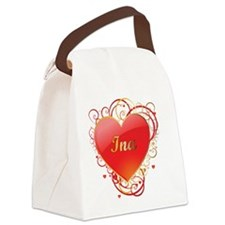 Ina-Valentines Canvas Lunch Bag