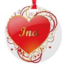 Ina-Valentines Ornament