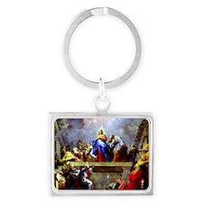 Pentecost complete1 Landscape Keychain