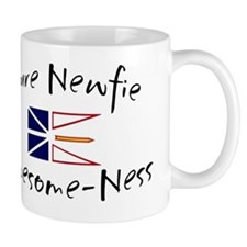 pure newfie Awesome-Ness Small Mugs
