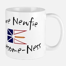 pure newfie Awesome-Ness Small Small Mug