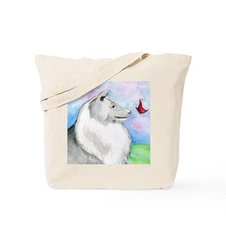 Sheltie Shetland Sheepdog Tote Bag