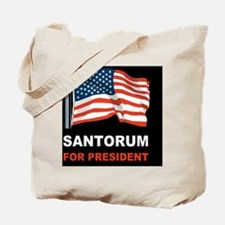 Santorum for presidentdbutton Tote Bag