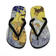 Cowardly_lion2-Dorothy-Wizard-Oz-1901-1 Flip Flops