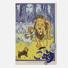 Cowardly_lion2-Dorothy-Wi Postcards (Package of 8)