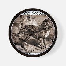 heritage-farm-dog Wall Clock