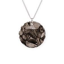 heritage-farm-dog Necklace Circle Charm