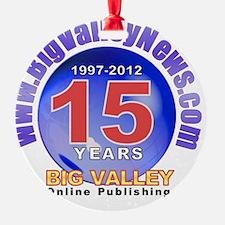 bigvalleynews-13years2 Ornament