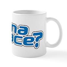 wanna_race_stein Small Small Mug