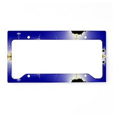 Collatz-Fractal-ed-laptop-ski License Plate Holder