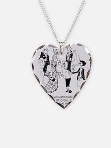 8706_woman_cartoon Necklace