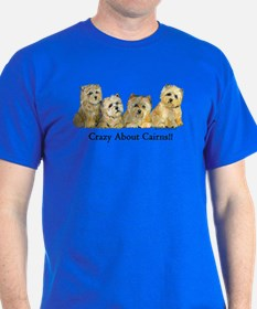 Crazy about Cairn Terriers T-Shirt