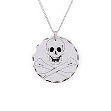 SkullBonesWhite1 Necklace