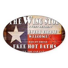 The Wing Stop mouse pad Decal
