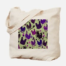 Tossed Chickens copy Tote Bag