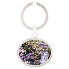 Picture 986 Oval Keychain