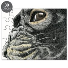 frenchie drawing Puzzle