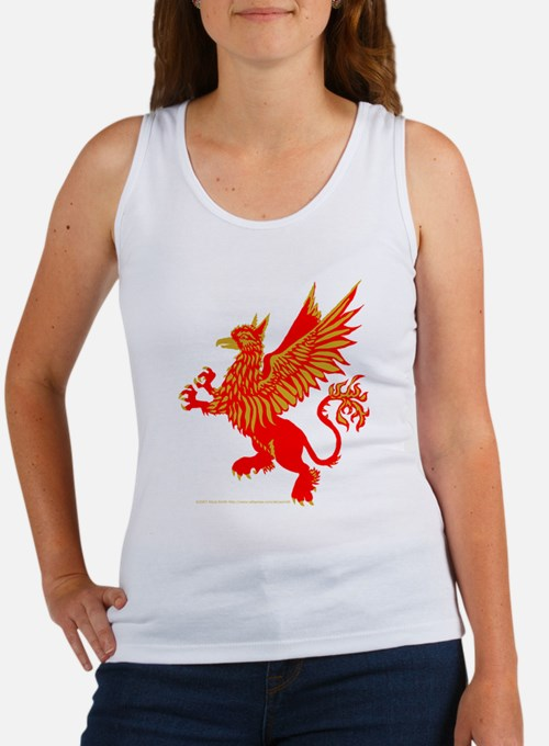 Gryphon Red Gold Women's Tank Top