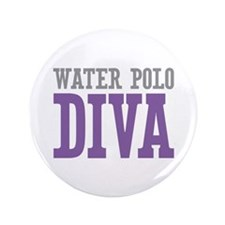 "Water Polo DIVA 3.5"" Button"
