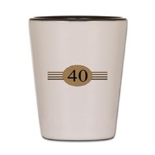 Authentic40b Shot Glass