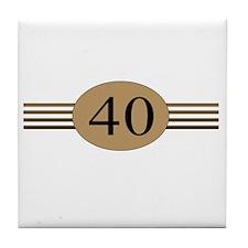 Authentic40b Tile Coaster