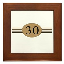 Authentic30b Framed Tile