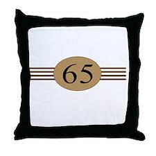 Authentic65b Throw Pillow
