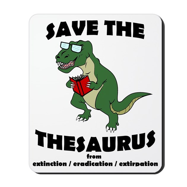 Thesaurus mousepad by admin cp17987565 for Decor thesaurus