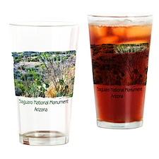 Saguaro Natl Monument Drinking Glass
