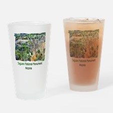 Saguaro Natl Monument Drinking Glass