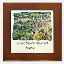 Saguaro Natl Monument Framed Tile