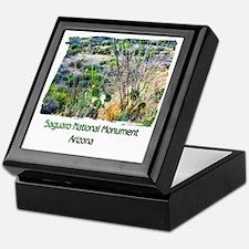 Saguaro Natl Monument Keepsake Box