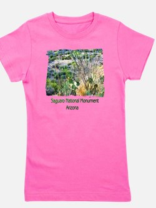 Saguaro Natl Monument Girl's Tee
