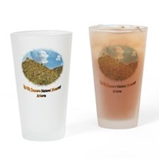 Red Hills Natl Monument Drinking Glass