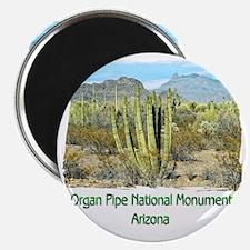 Organ Pipe Monument Magnet