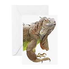 Iguana_logo_XLarge_trimmed Greeting Card